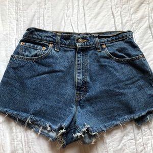 Levi's 550 High-Waisted Jean Shorts